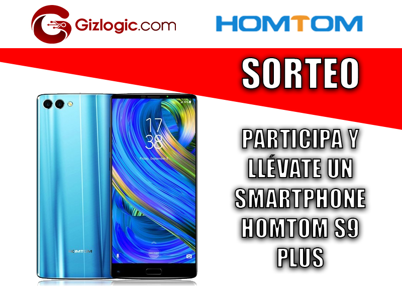 Sorteo HomTom S9 Plus