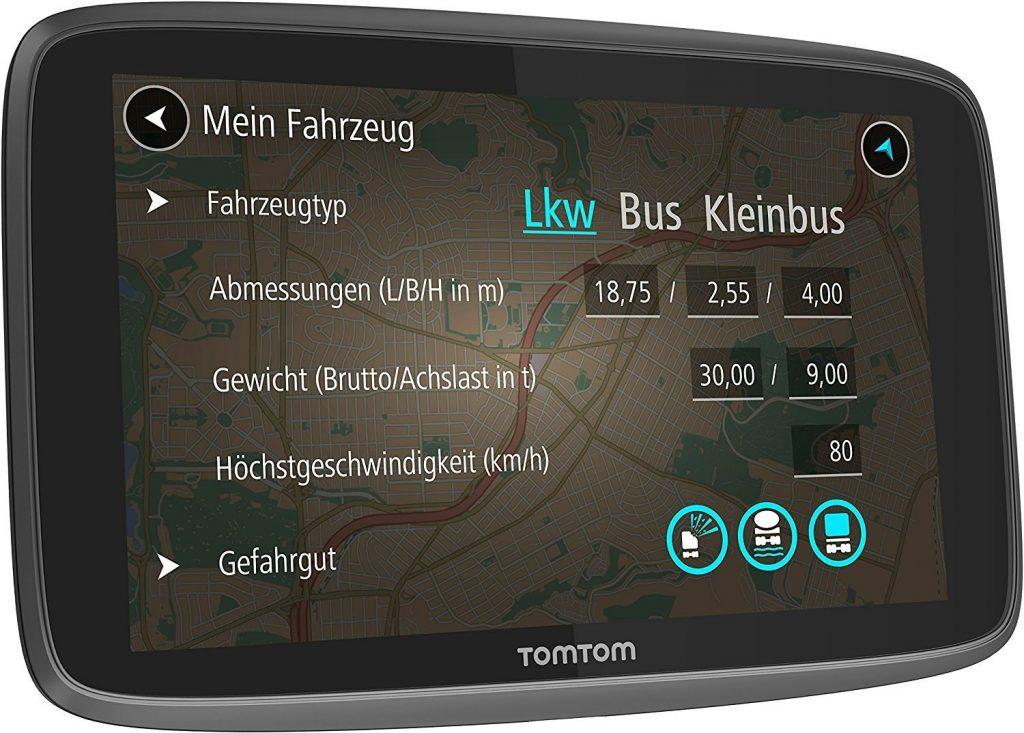 Tomtom GO Professional 6250, pantalla