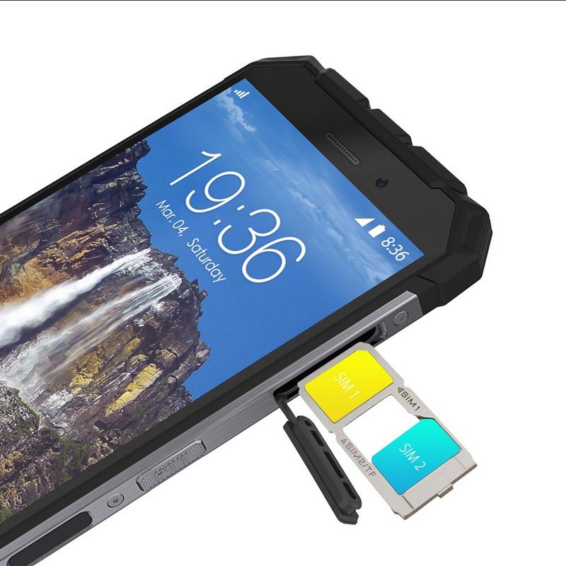Ulefone Armor X, tarjetas SIM
