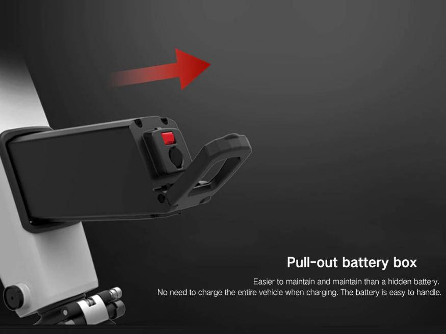 Xiaomi Himo H1, batería