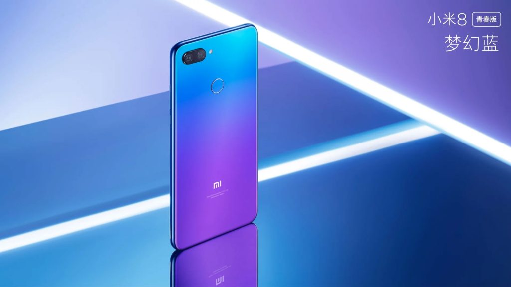 Xiaomi Mi 8 Lite colores