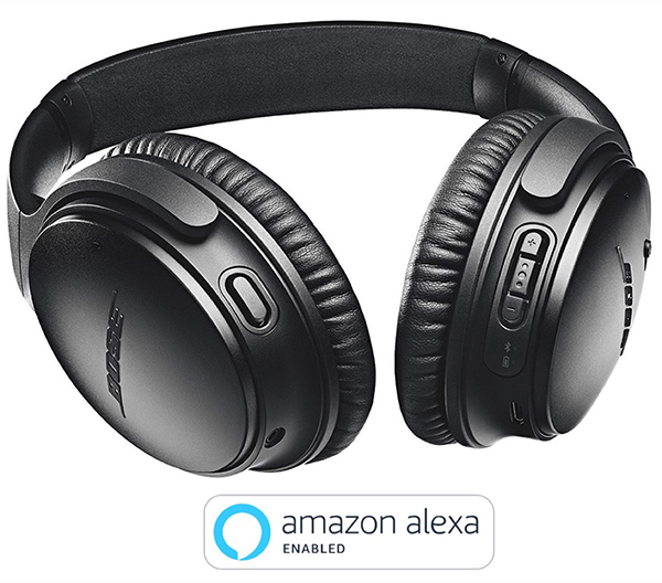 Bose Quiet Comfort 35Il con Amazon Alexa