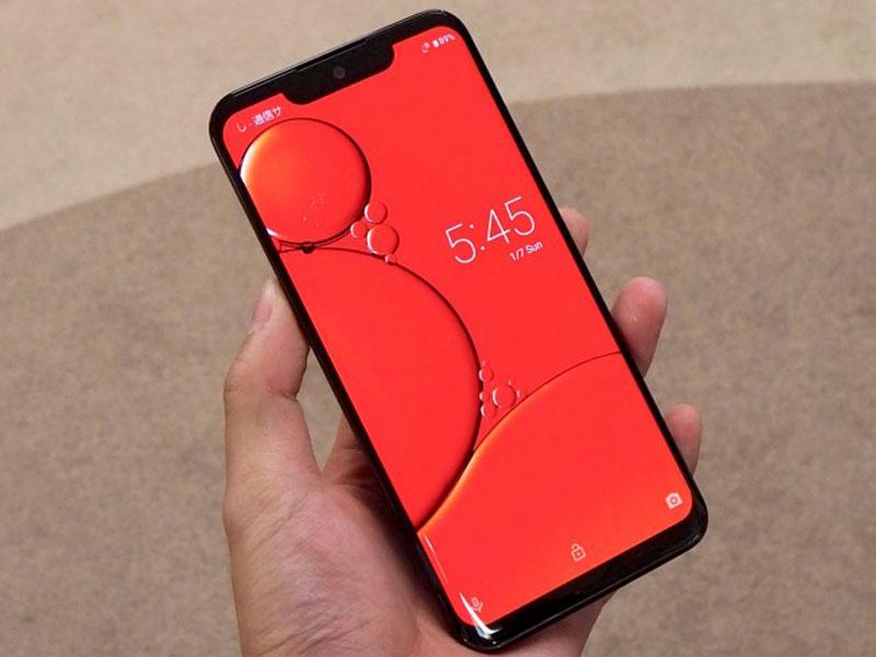 El Sharp Aquos Zero se presenta como el primer móvil con pantalla OLED de la compañía