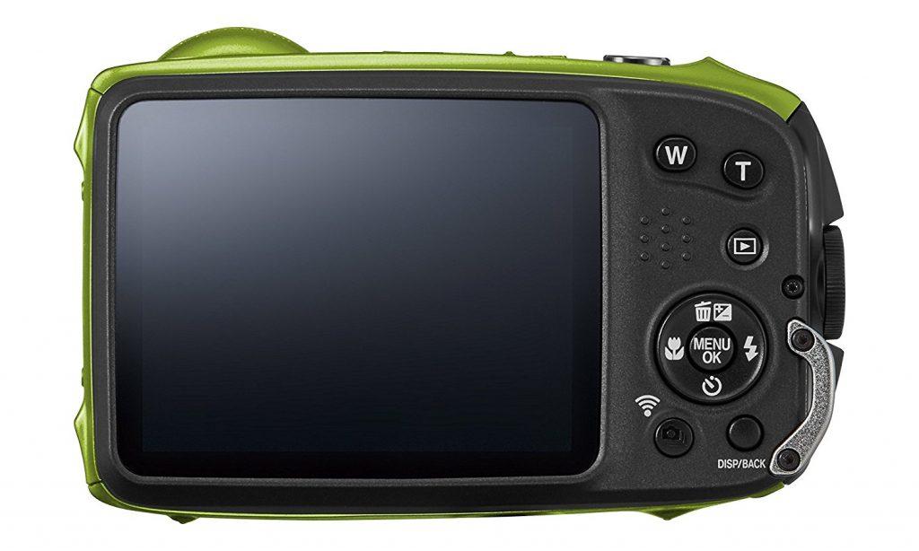 Fujifilm XP120, pantalla