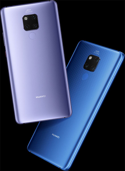 Huawei Mate 20 X - colores