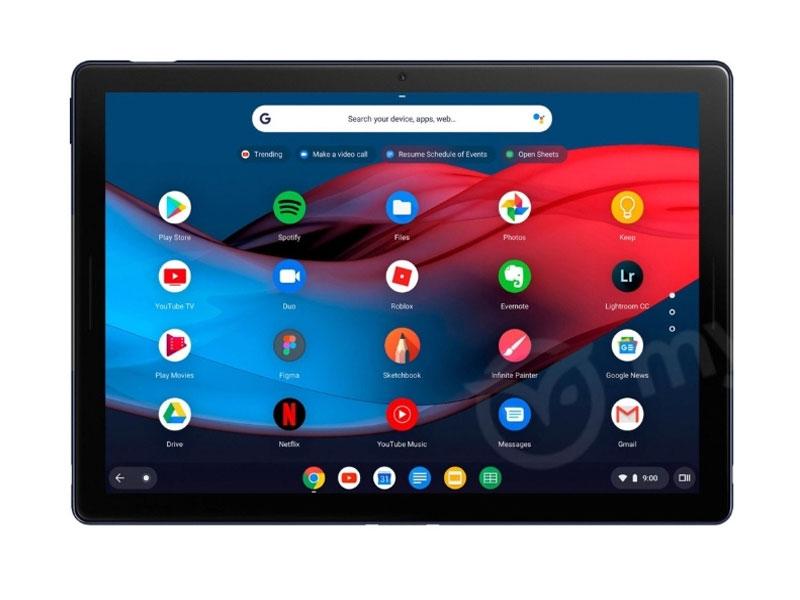Pixel Slate, la nueva tableta de Google con Chrome OS sale al descubierto