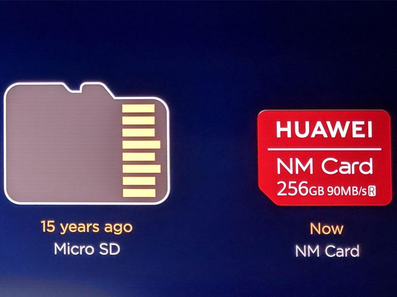 Tarjetas NM Card de Huawei, la compañía desplazará las Micro-SD en sus nuevos terminales