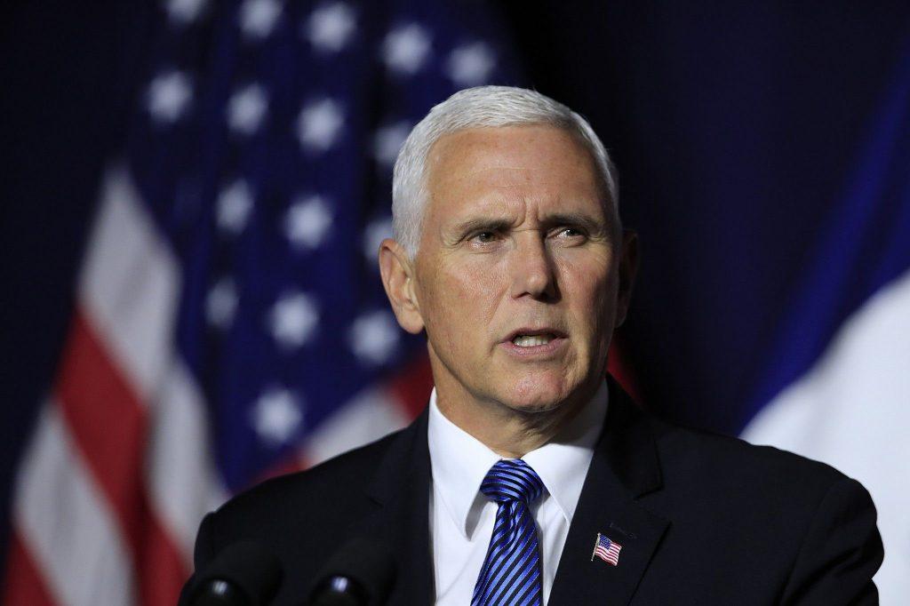 Vice presidente de los Estados Unidos - Mike Pence
