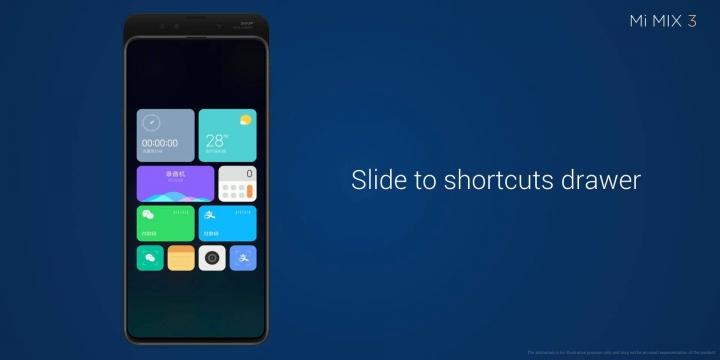 Xiaomi Mi MIX 3 - personalización apps