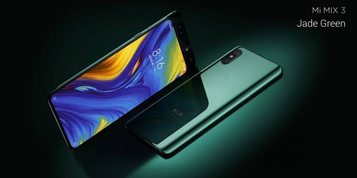 Xiaomi Mi MIX 3 - verde jade