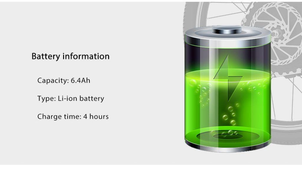 YUNZHILUN 24V - X iMortor 2.0 700C, batería