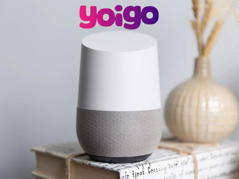 Yoigo pone al asistente de Google a la disposición del público español