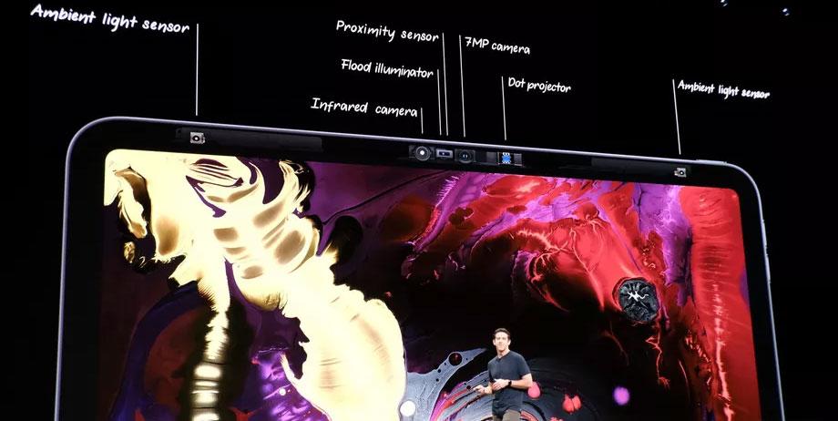 iPad Pro 2018 - sensores