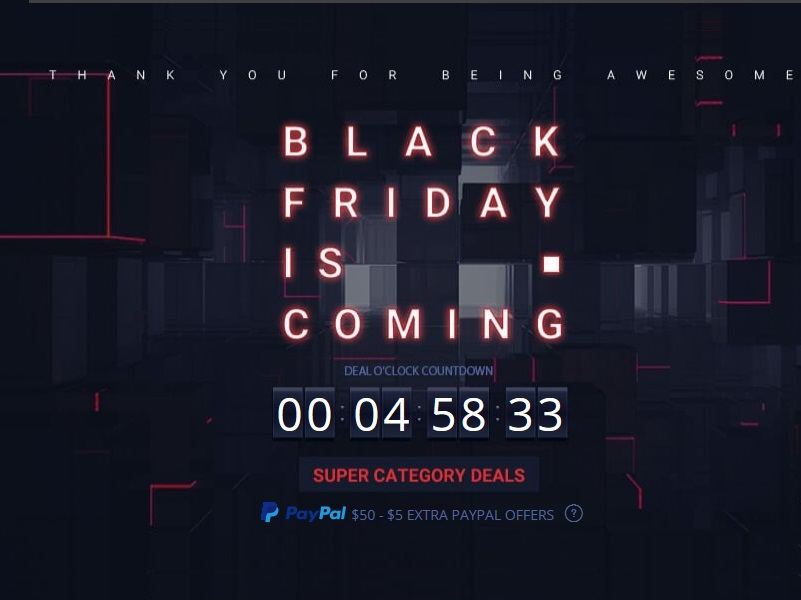 Black Friday de Gearbest