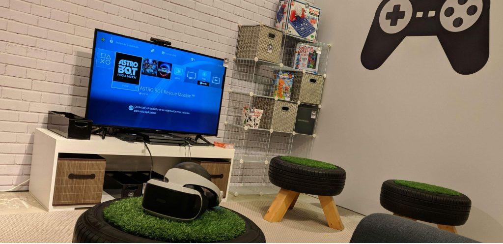 Casa Amazon - sala de juegos