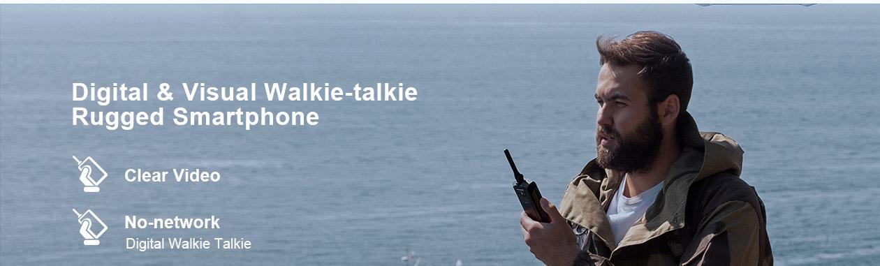Doogee S80, walkie-talkie