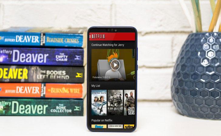 El Honor 8X ya puede reproducir Netflix en Full HD