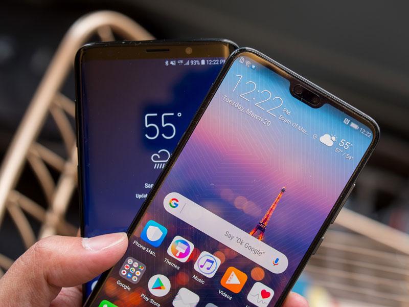 Envíos de smartphones del tercer trimestre del 2018 Samsung sigue a la cabeza