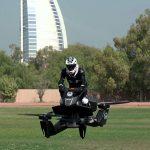 Hoverbikes podrían patrullar muy pronto las calles de Dubái