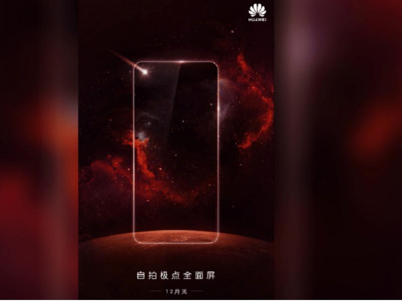 Huawei notch en o