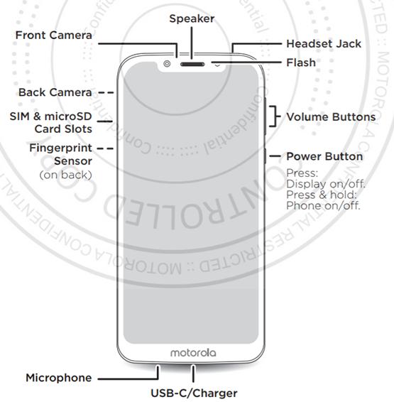 Moto G7 Play - diseño