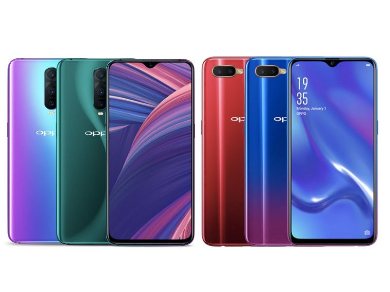 Oppo rx17 Pro y Oppo RX17 Neo