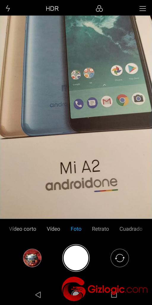 Xiaomi MiA2 Interfaz General Foto