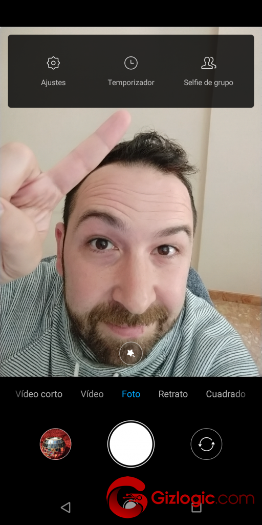 Xiaomi MiA2 AjustesModoFotoCamaraDelantera