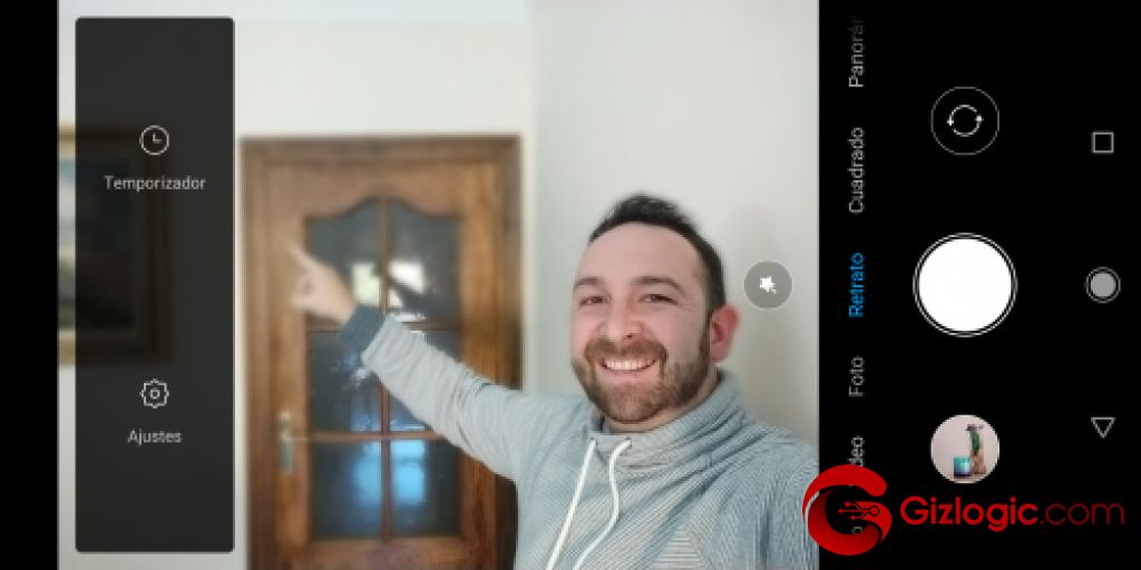 Xiaomi MiA2 AjustesModoRetrato