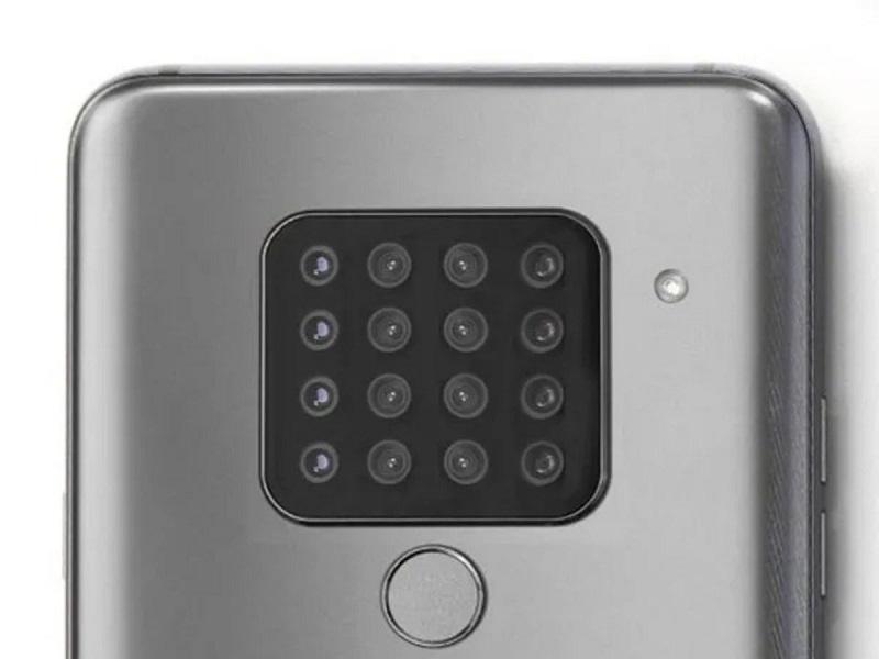 ¡LG prepara un celular con 16 cámaras!