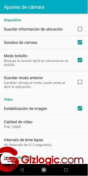Xiaomi MiA2 Estabilizador