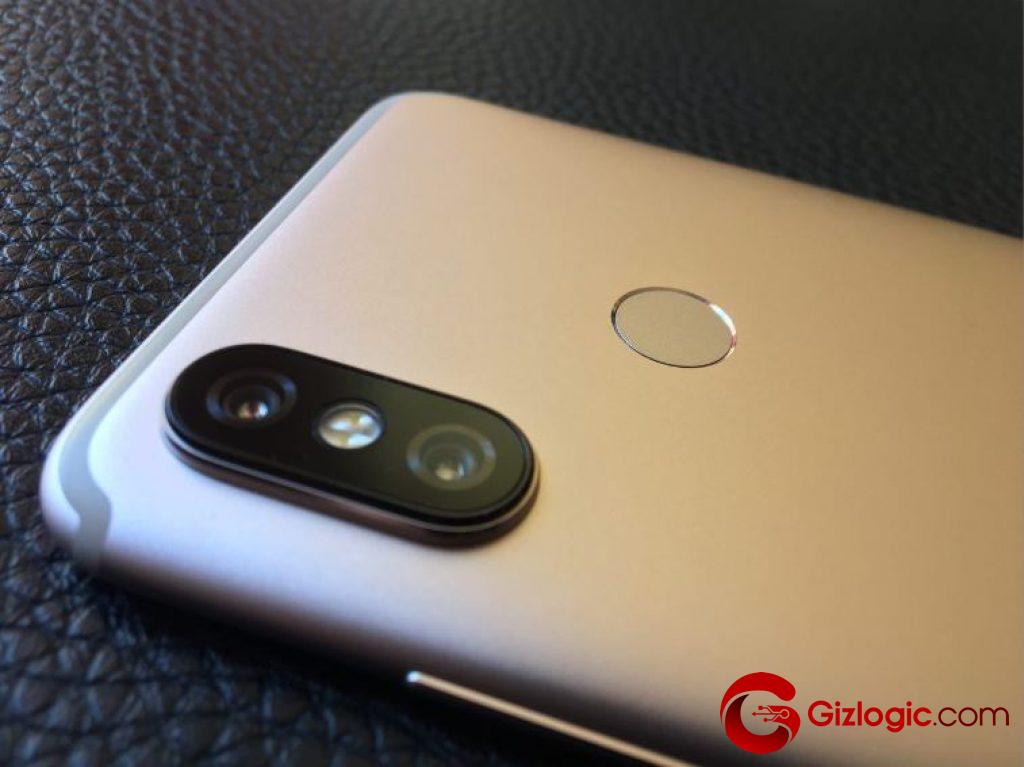 Detalle cámara Xiaomi MiA2