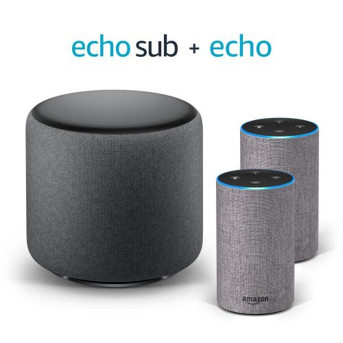 Amazon Echo y Sub - Cómo mantener tu altavoz inteligente seguro y no morir en el intento