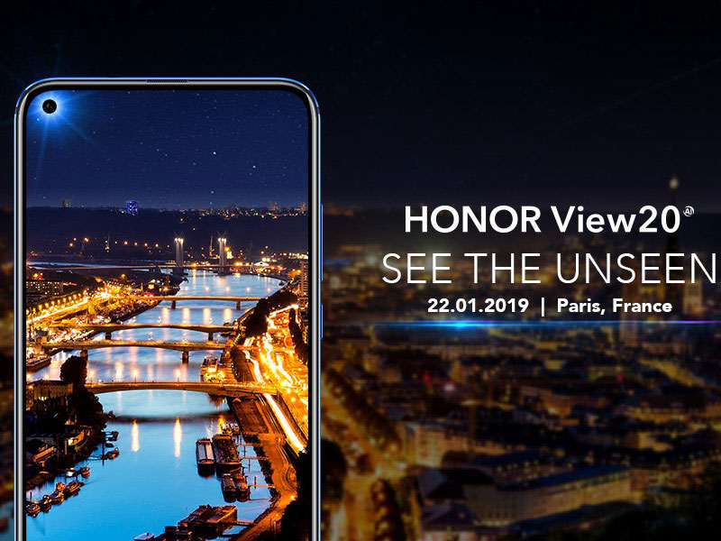 El Honor View 20 es presentado