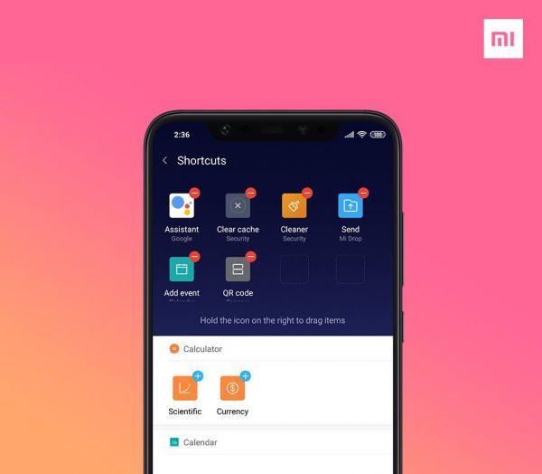 El Xiaomi Mi 8 recibeslow-moy modo nocturno