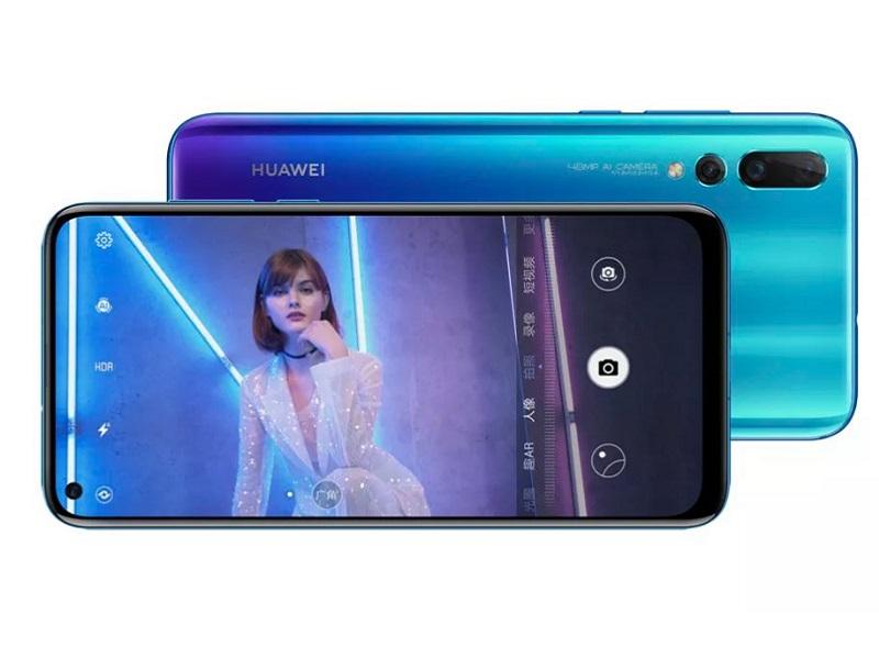 Huawei Nova 4: El teléfono con cámara integrada en la pantalla