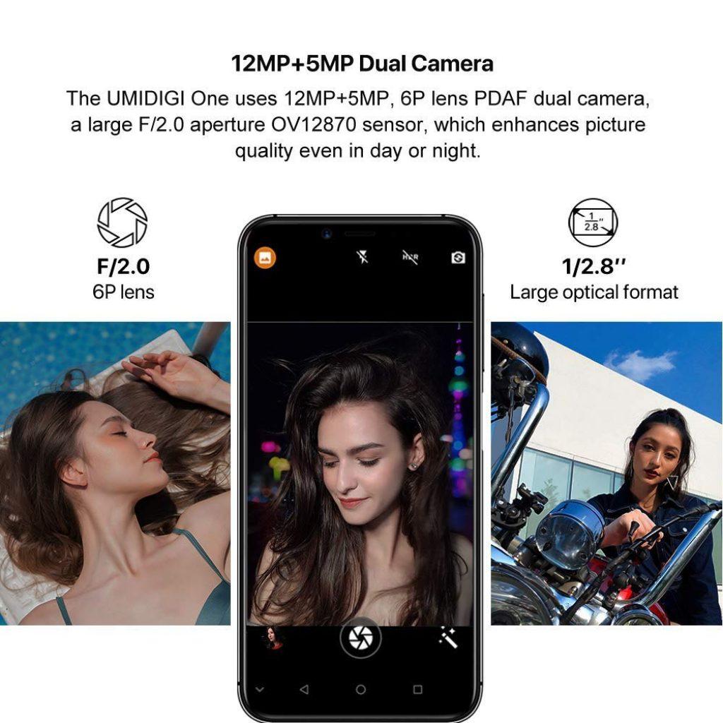 UMIDIGI One Pro, cámaras
