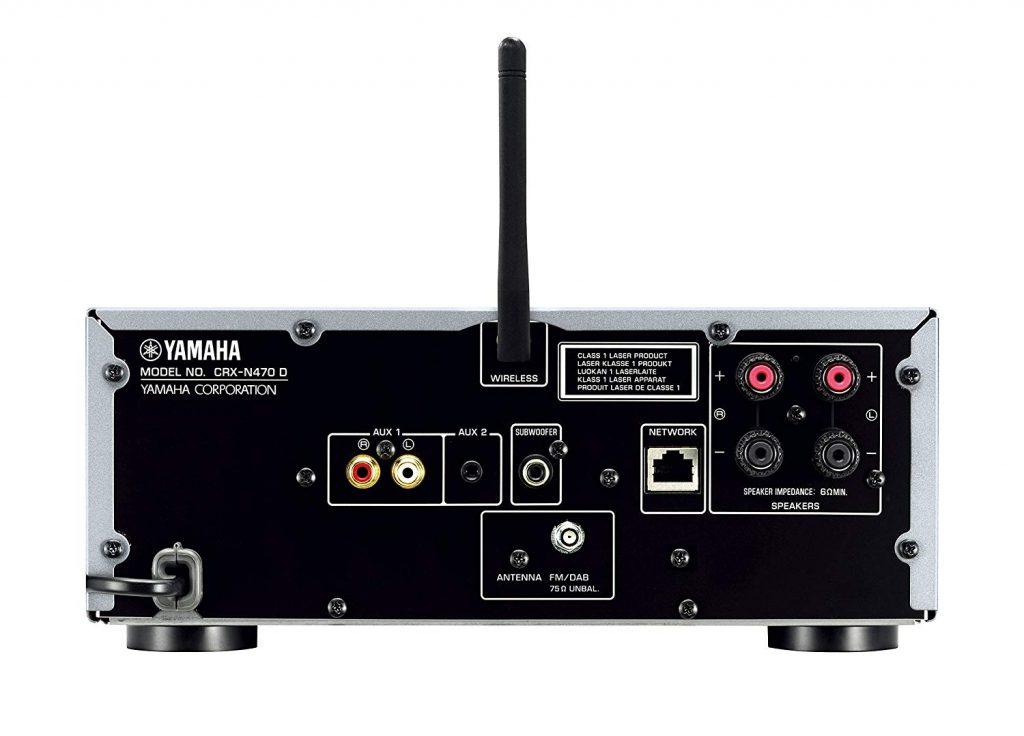 Yamaha MCR-N470, DAB