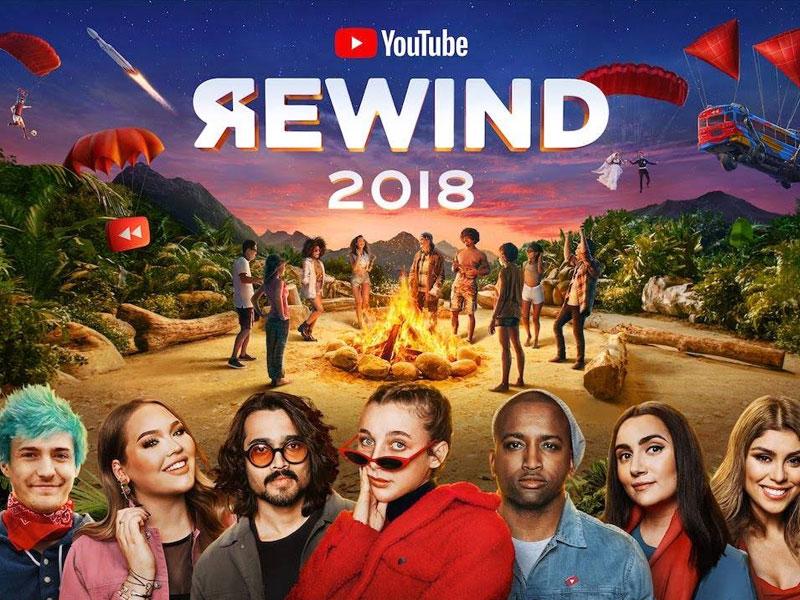 YouTube Rewind 2018, los vídeos, tendencias y canciones más destacadas