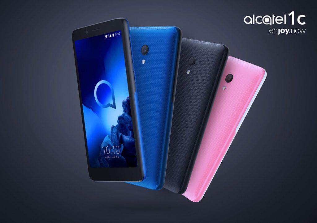 Alcatel 1C 2019 - colores