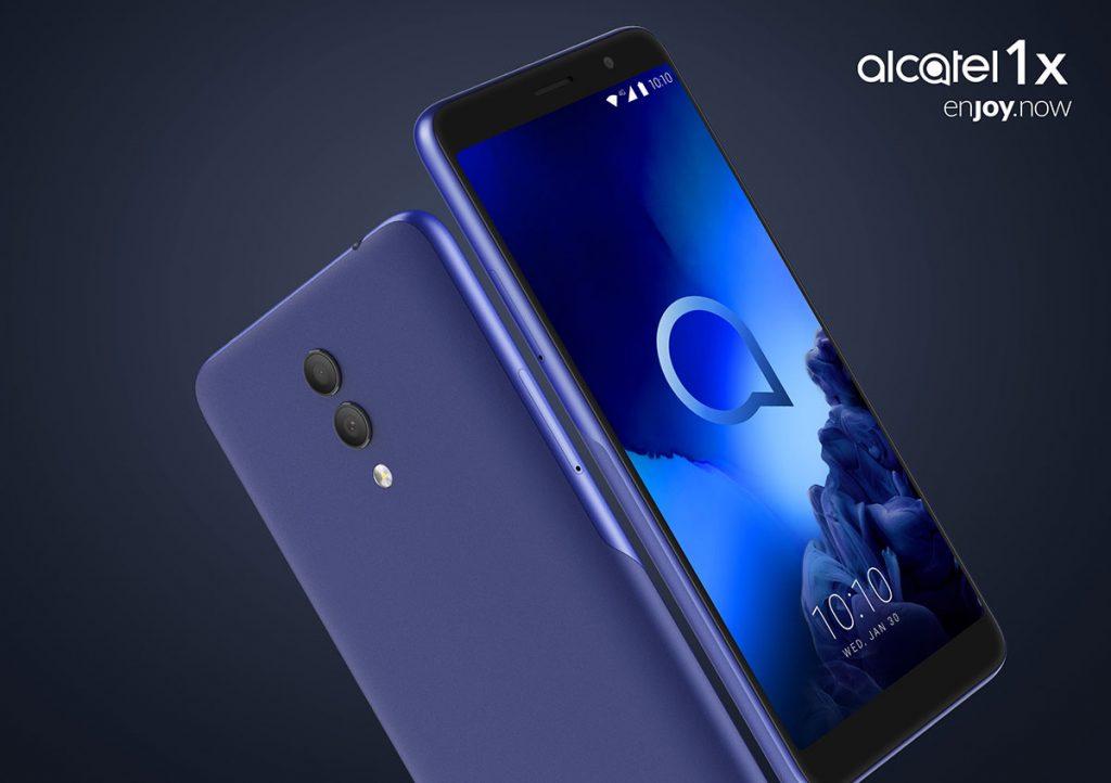 Alcatel 1X - pantalla