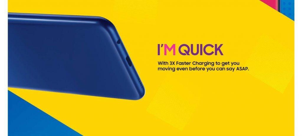 Así será la serie Samsung Galaxy M - carga rápida