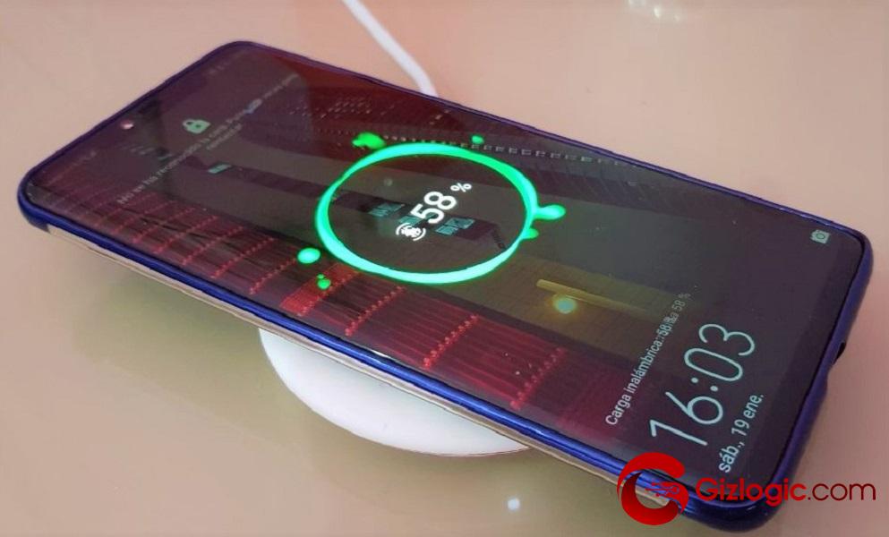 Cargador inalambrico de Huawei