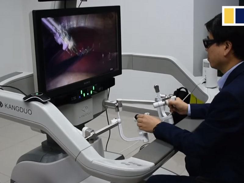 China realiza la primera telecirugía mediante el poder del 5G