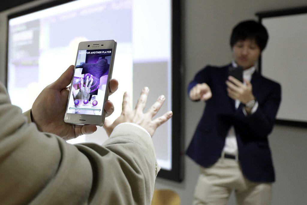 Demostración de los sensores 3D de Sony