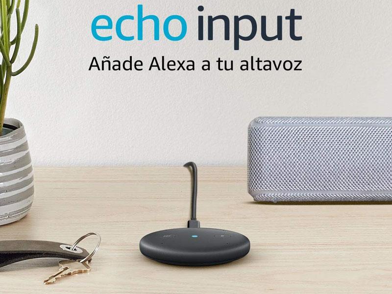 El Echo Input de Amazon llega oficialmente a España