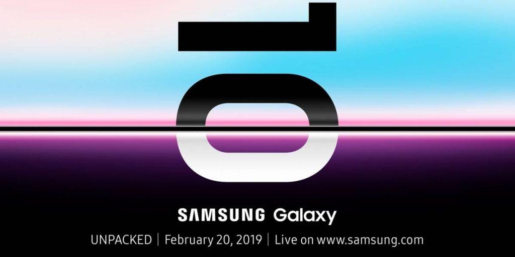 El Samsung Galaxy S10 será presentado el 20 de febrero