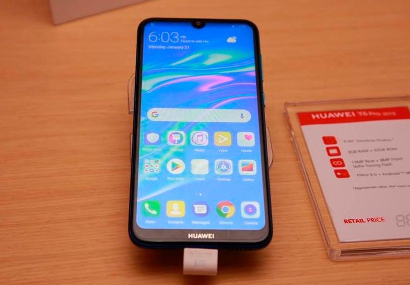 Huawei Y6 Pro 2019 - características