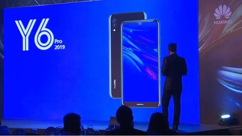 Huawei Y6 Pro 2019 - presentación