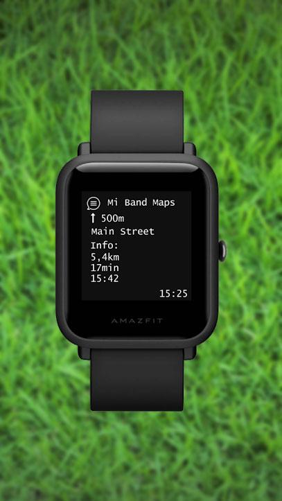 Mi Band Maps - Funciones 2